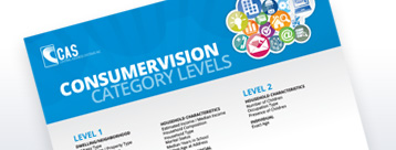 ConsumerVision Category Levels
