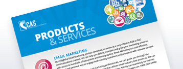 CAS Products and Services